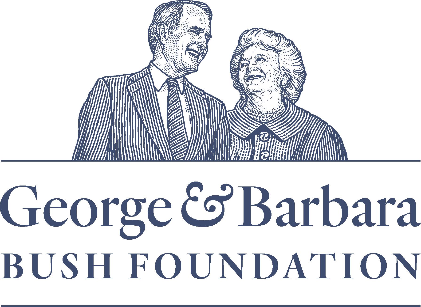 The George and Barbara Bush Foundation Logo